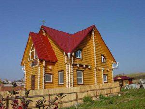 проекты домов из бревна
