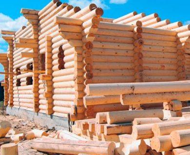 строительство дома из сруба технология