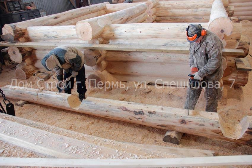 срубы Пермь изготовление